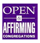 Open and affirming congregations logo